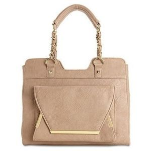 Tan Olivia & Joy Rockefeller Satchel